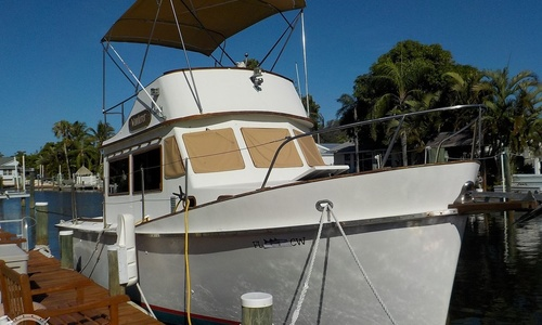 Image of Cheoy Lee 28 Sedan Trawler for sale in United States of America for $33,400 (£25,995) Holmes Beach, Florida, United States of America