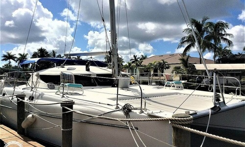 Image of Fountaine Pajot Athena 38 for sale in United States of America for $110,000 (£84,822) Fort Myers, Florida, United States of America