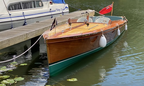 Image of Andrews Slipper Stern Launch lady noggs for sale in United Kingdom for £37,500 United Kingdom
