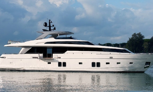 Image of Sanlorenzo SL 106 Hybrid for sale in Italy for €6,600,000 (£6,049,773) Italy