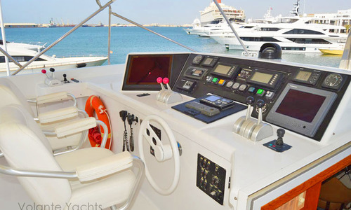 Image of Hatteras 92 Elite for sale in Croatia for $2,395,000 (£1,692,316) Croatia