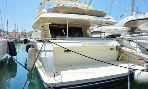 Image of Ferretti 80 RPH for sale in Gibraltar for €595,000 (£516,565) Gibraltar