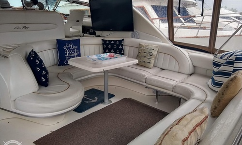 Image of Sea Ray 450 Sundancer for sale in United States of America for $112,000 (£80,414) Port Clinton, Ohio, United States of America