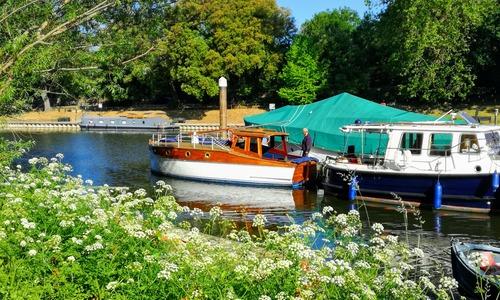 Image of Bert Shutler's Boatyard Poole Dorset Carvel construction, vintage wooden boat for sale in United Kingdom for £19,995 Surrey, United Kingdom