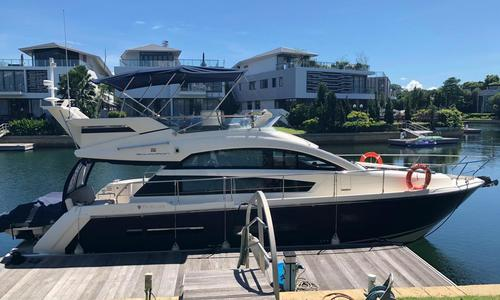 Image of Fairline Squadron 42 for sale in Singapore for $350,000 (£271,976) Singapore