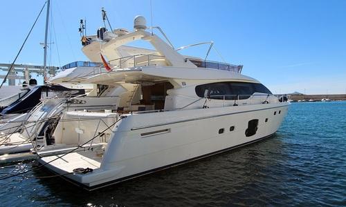 Image of Ferretti 630 for sale in Croatia for €799,000 (£732,389) Croatia