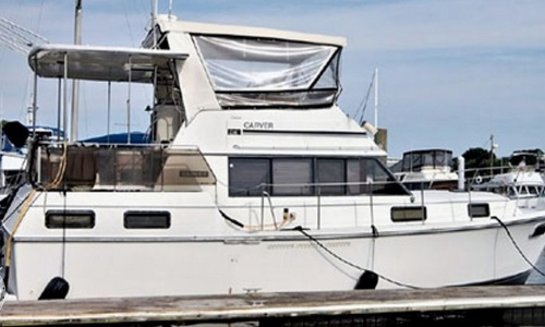 Image of Carver Yachts 36 aft cabin for sale in United States of America for $15,000 (£11,613) Hampton, Virginia, United States of America