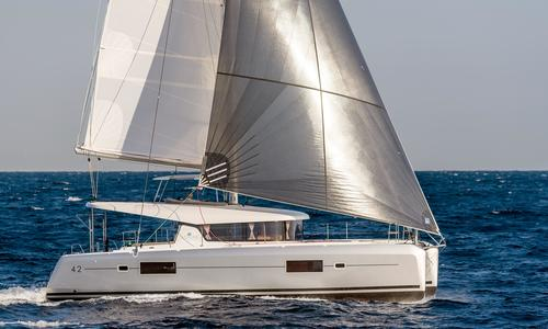 Image of Lagoon 42 for sale in Singapore for €563,654 (£514,795) Singapore