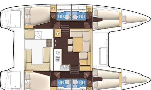 Image of Lagoon 400 S2 for sale in Greece for €330,000 (£301,373) Lavrio, Greece