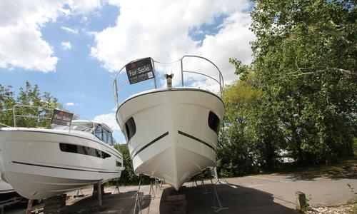 Image of Jeanneau MERRY FISHER 1095 FLY for sale in United Kingdom for £217,000 Chichester, United Kingdom