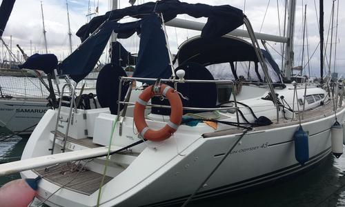 Image of Jeanneau Sun Odyssey 45 for sale in Spain for €95,000 (£86,671) Spain