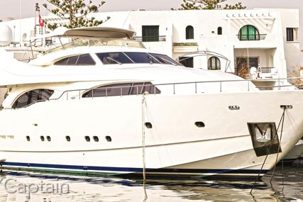 Ferretti 94 for sale in France for €1,389,000 (£1,258,871)