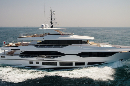Majesty Majesty 120 for sale in United Arab Emirates for €11,800,000 (£10,201,082)