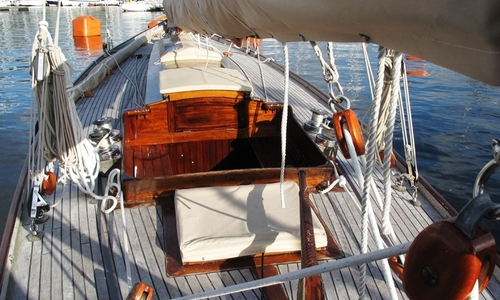 Image of 46ft. GAFF CUTTER 9 Metre 'R' for sale in Italy for £75,000 North, Italy