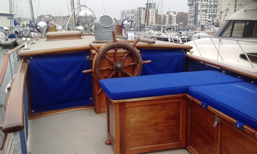 Image of HYLAND MOTOR YACHT 42 for sale in United Kingdom for £95,000 East Coast, United Kingdom