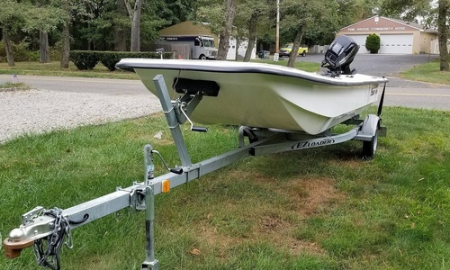 Image of Carolina Skiff J1650 for sale in United States of America for $9,800 (£7,089) Tinton Falls, New Jersey, United States of America
