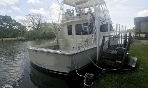 Image of Hatteras 52 Convertible for sale in United States of America for $199,995 (£143,600) Houma, Louisiana, United States of America