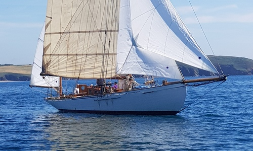 Image of VINTAGE SUMMERS & PAYNE YAWL 45 for sale in United Kingdom for £395,000 West Country, United Kingdom
