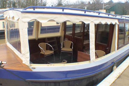 Peter Nicholls Steel Boats inspection launch wide beam for sale in United Kingdom for £149,500
