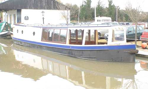 Image of Peter Nicholls Steel Boats inspection launch wide beam for sale in United Kingdom for £149,500 Northants, United Kingdom