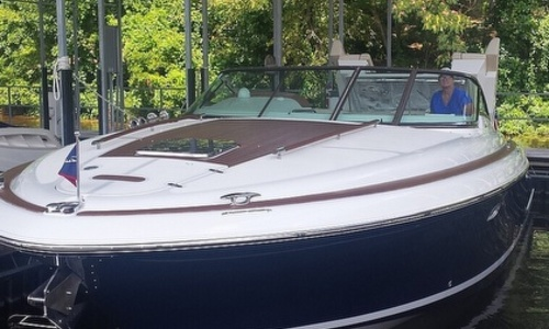 Image of Chris-Craft 36 Corsair Heritage Edition for sale in United States of America for $159,950 (£123,505) Sunrise Beach, Missouri, United States of America