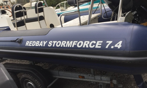 Image of Redbay Stormforce 7.4m Rib for sale in United Kingdom for £35,000 United Kingdom