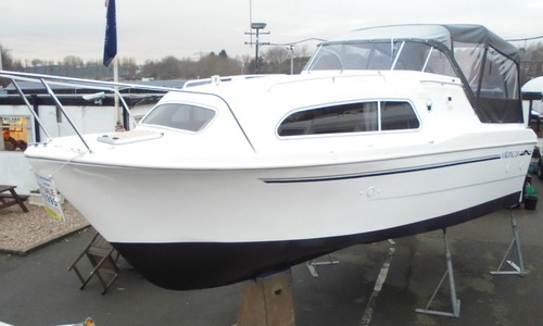 Image of Viking Yachts 24 HiLine Wide Beam for sale in United Kingdom for £48,500 East Midlands, Nottingham, United Kingdom