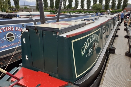 Keith Jones Greenwood Traditional Stern Narrowboat for sale in United Kingdom for £29,995