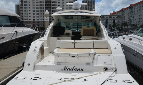 Image of Sea Ray 470 Sundancer for sale in United States of America for $499,900 (£392,432) Tampa, Florida, United States of America