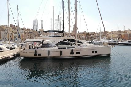 Hanse 588 for sale in Malta for €685,000 (£620,825)
