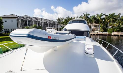Image of Viking Yachts Enclosed Bridge for sale in United States of America for $8,499,000 (£6,669,649) Fort Lauderdale, United States of America