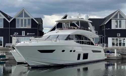 Image of Princess 68 for sale in Denmark for kr15,750,000 (£1,940,623) Greve, , Denmark