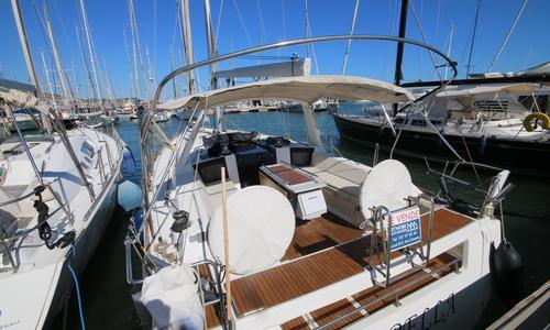 Image of Beneteau Oceanis 41 for sale in Spain for €139,950 (£127,848) Barcelona, Spain