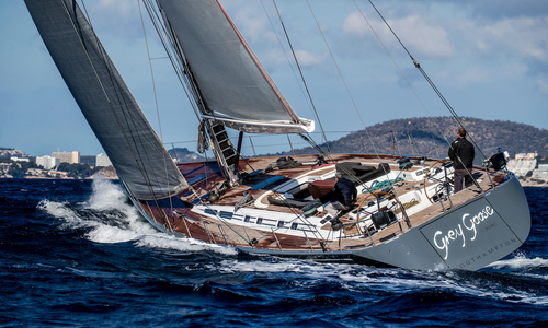 Image of Nautor's Swan 82' for sale in Spain for €2,950,000 (£2,708,509) Valencia,, Spain