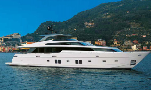 Image of Sanlorenzo SL 106 for sale in France for €7,700,000 (£6,631,871) Mediterranean southern , France