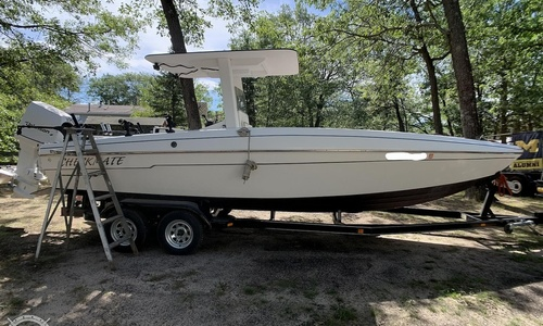 Image of Custom Built 25 Center Console for sale in United States of America for $19,500 (£13,840) National City, Michigan, United States of America