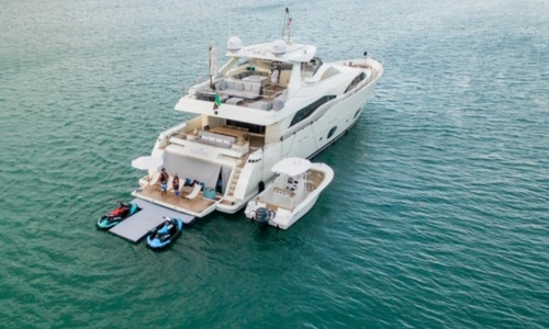 Image of Ferretti Custom Line for sale in United States of America for $3,299,000 (£2,332,685) Fort Lauderdale, Florida, United States of America