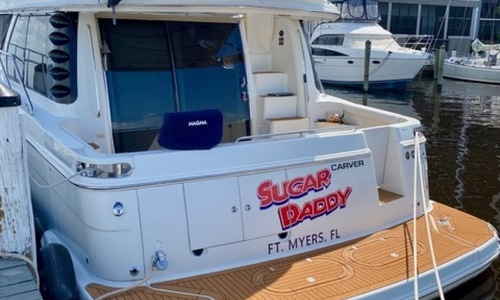 Image of Carver Yachts 450 Voyager-Stabilizer for sale in United States of America for $279,000 (£215,138) Fort Myers, Florida, United States of America