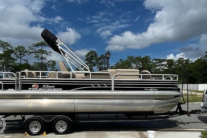 Sun Tracker Fishin Barge 22 DLX for sale in United States of America for $37,900 (£29,386)
