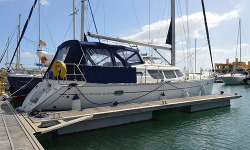 Image of Jeanneau Sun Odyssey 40 DS for sale in Portugal for €83,000 (£75,800) Algarve , Portugal