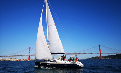 Image of Jeanneau Sun Odyssey 54 DS for sale in Portugal for €175,000 (£160,411) Lisbon, , Portugal