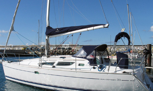 Image of Jeanneau Sun Odyssey 35 for sale in Portugal for €65,000 (£59,361) Madeirã, , Portugal