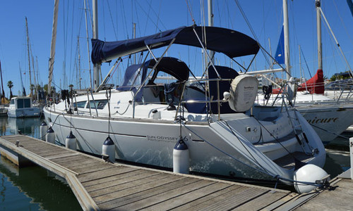 Image of Jeanneau Sun Odyssey 36i for sale in Portugal for €69,950 (£64,224) Algarve , Portugal