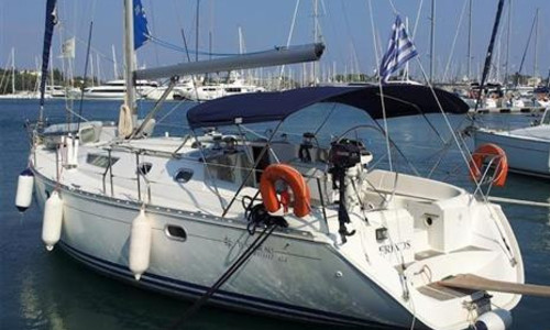 Image of Jeanneau Sun Odyssey 42.2 for sale in United Kingdom for €64,500 (£59,123) Corfu, Corfu, United Kingdom