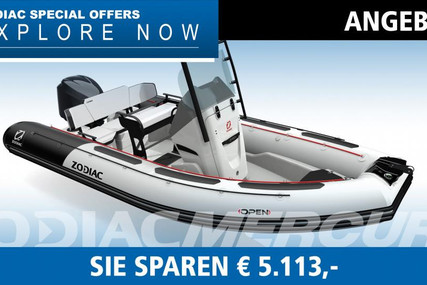 Zodiac OPEN 5.5 for sale in Germany for €34,670 (£31,470)