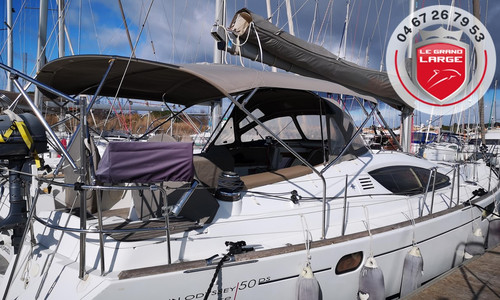 Image of Jeanneau Sun Odyssey 50 DS for sale in France for €210,000 (£190,326) CAP D'AGDE, , France