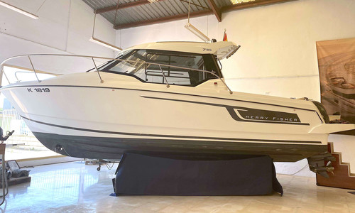 Image of Jeanneau Merry Fisher 795 for sale in Spain for €62,000 (£56,626) Alicante (Alacant), Spain