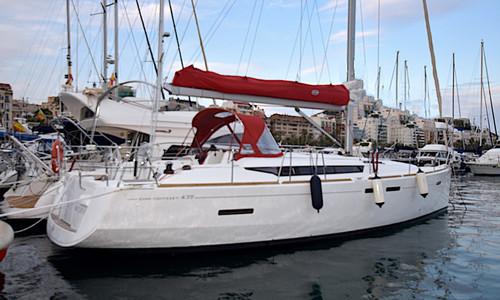 Image of Jeanneau Sun Odyssey 439 for sale in Spain for €165,000 (£150,697) ALTEA - ALICANTE, Spain