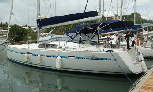 Image of Beneteau Oceanis 54 for sale in Guadeloupe for €155,000 (£141,266) Le Gosier, Guadeloupe