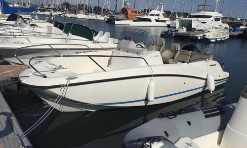 Image of Quicksilver 605 Activ for sale in France for €18,800 (£17,261) La Rochelle, , France